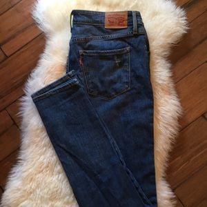 Levi's skinny jeans.